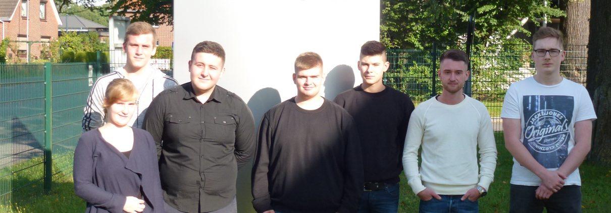 neue Azubis 2017 PFM