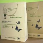 Tüte aus Graspapier Nature-Liner Papierfabrik Meldorf