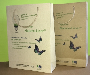 paper bags made of Nature-Liner