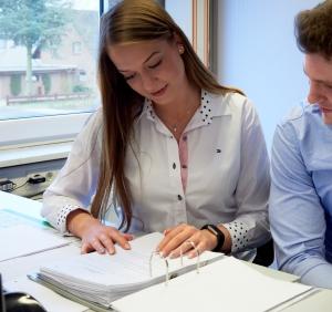 Ausbildung Industriekaufleute Papierfabrik Meldorf