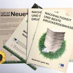 Drucken auf Graspapier