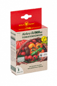 Graspapier Umverpackung für Tomatendünger